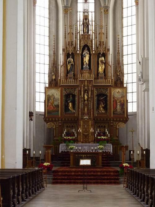 St. Johannes Erding innen